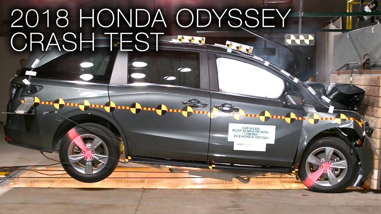 2018 Honda Odyssey Frontal Crash Test