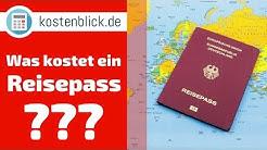 Reisepass - Kosten / Preise einfach erklärt in nur 60 Sekunden!