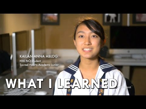 "Sacred Hearts Academy ""What I Learned"" MINI-DOC"