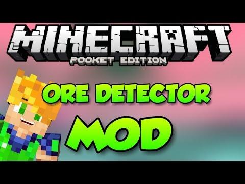 ORE DETECTOR MOD - MINECRAFT PE 0.11.0