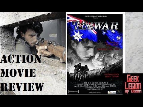 WILLIAM KELLY'S WAR ( 2014 Josh Davis ) World War 1 Action Movie Review