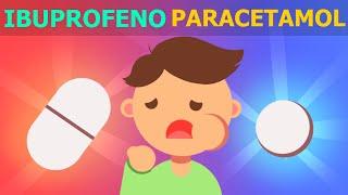 ¿Cuándo usar ibuprofeno y cuándo paracetamol?
