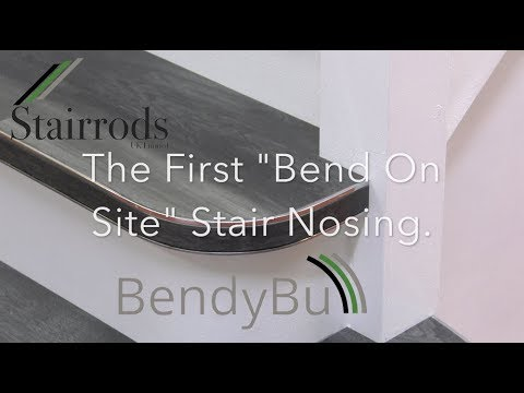 How To The First Bend On Site Curved Stair Nosing From