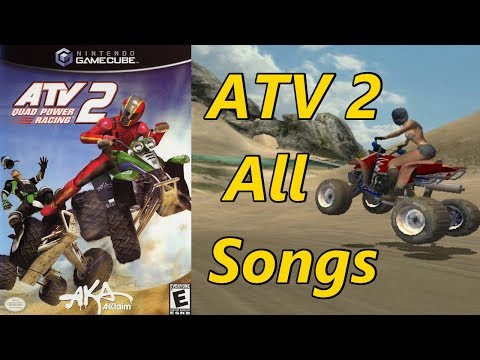 ATV Quad Power Racing 2 All Songs/Music/Soundtrack & Intro
