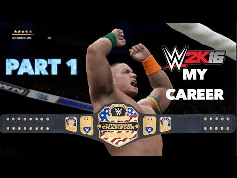 A New Chapter! - John Cena's My Career WWE 2K16