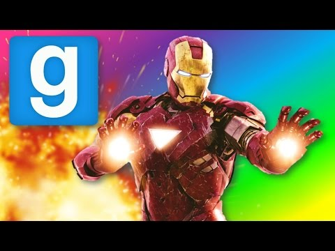 Gmod: THE AVENGERS IN GMOD! (Garry's Mod Sandbox Funny Moments)