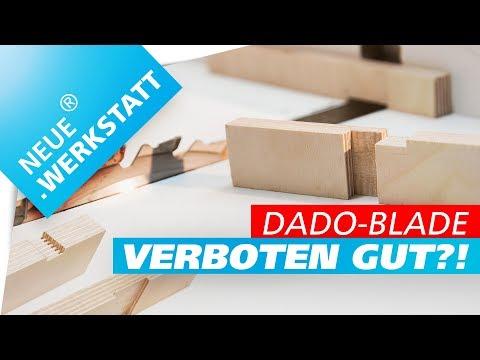 🔥 Dado-Blade Schiebeschlitten 🔥 JIG für Nut/Falz an Tischkreissäge selber bauen + DIY für Kreissäge