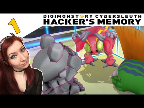 BLACK MARKET DIGIMON? - Digimon Story Cyber Sleuth: Hacker's Memory Walkthrough Gameplay Part 1