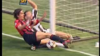 Campionato 2004/05 Milan vs Juventus 0-1 08/05/2005 Sintesi SKY