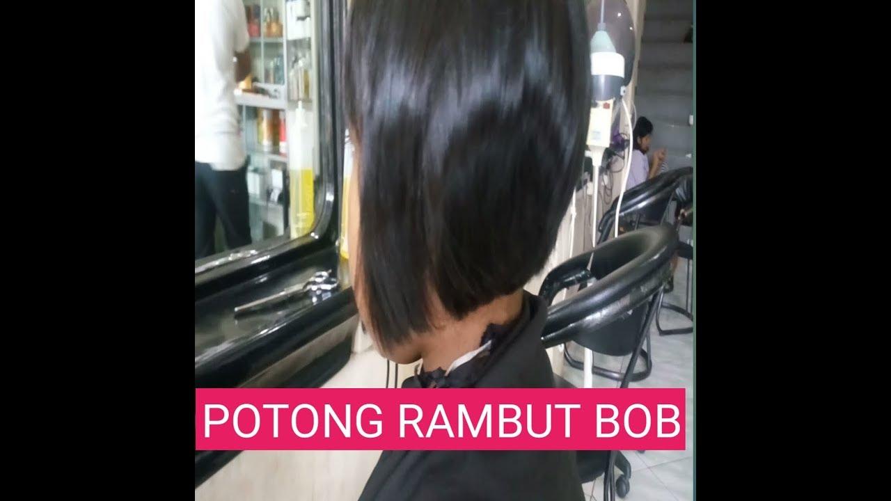 POTONG RAMBUT BOB NUNGGING - YouTube f431b45df4