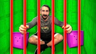 My Best Friend Trapped Me In Slime Prison... (Playing Minecraft To Escape!) - JeromeASF