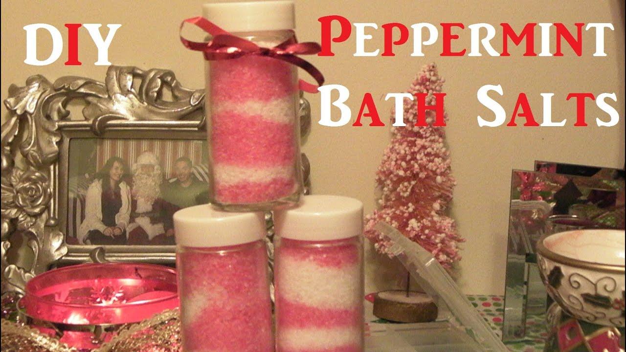how to make homemade bath salts for christmas
