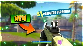 Glitch first person view on fortnite!!