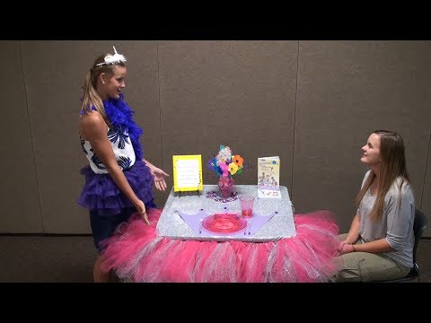 4-H Table Setting Judging Example (Re-enactment)