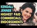 Kendall Jenner Highest Paid Commercials/Endorsements