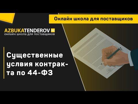 Существенные условия контракта по 44-ФЗ: что к ним относится и можно ли их изменять?