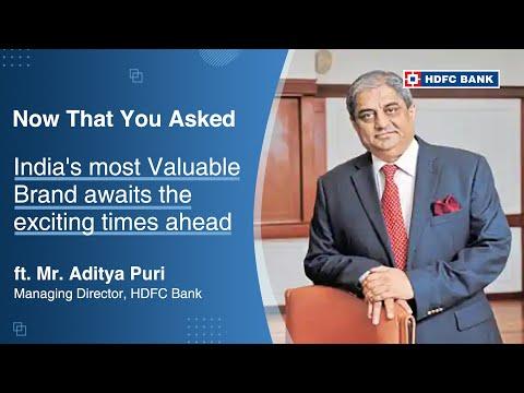 Latha Venkatesh of CNBC TV 18 interviews Aditya Puri, MD, HDFC Bank