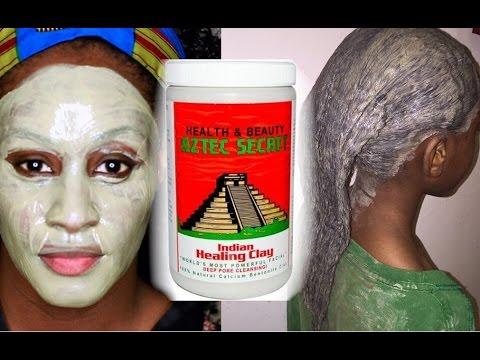 Aztec Secret Indian Bentonite Clay Review and Demo on Natural Hair and Skin | Shlinda1