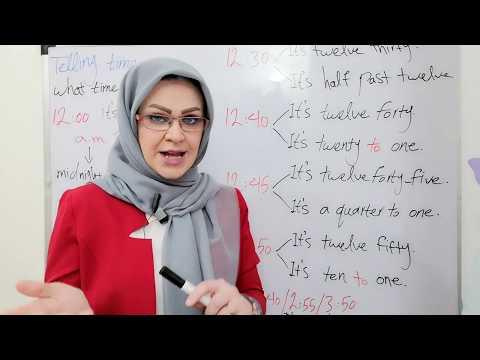 آموزش زبان انگلیسی از مبتدی تا پیشرفته Learn English Online part 1-7