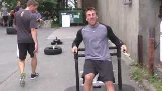 Marchand with sled & hammer