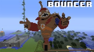 Minecraft Livestream Build - Skylander giant Bouncer