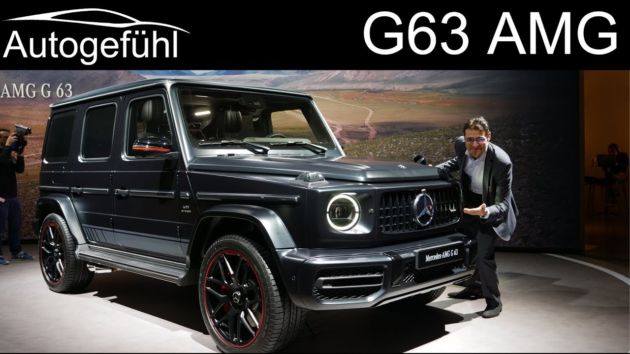 Mercedes G63 AMG REVIEW all-new G-Class G Wagon 2019 2018 ...