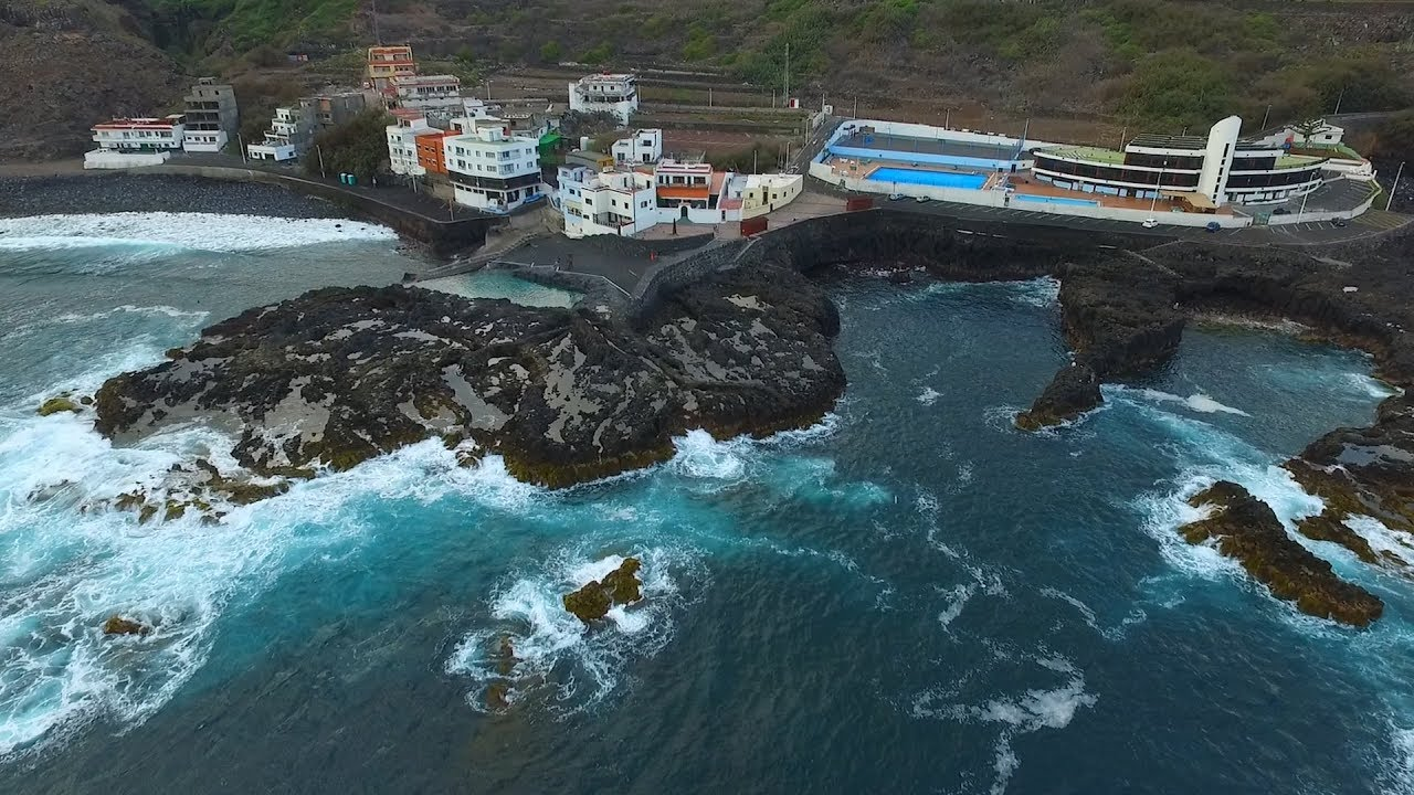 Jover piscina natural tejina tenerife youtube for Piscina natural tenerife