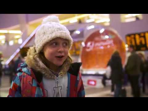 Birmingham Snow Globe Challenge - Virgin Trains #GiftOfTime