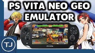 PS Vita 3.67 Neo Geo Emulator! VHBL!