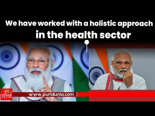 PM: We have worked with a holistic approach in the health sector