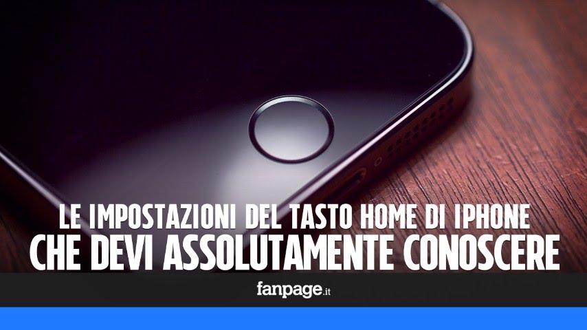 Impostazioni del tasto home di iphone e ipad che devi