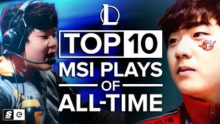 The Top 10 Mid-Season Invitational Plays of All-Time