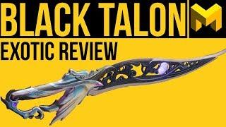 Destiny 2 Forsaken: Black Talon Exotic Review