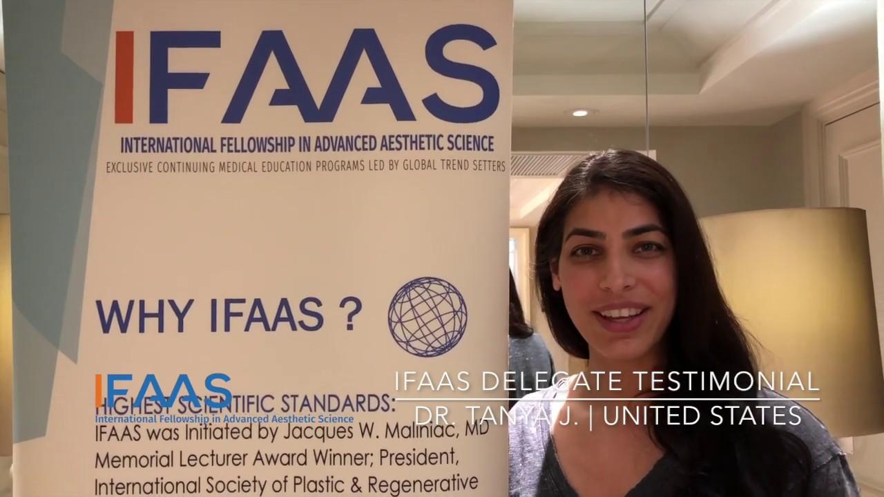 IFAAS Delegate Testimonial - Dr  Tanya J    United States