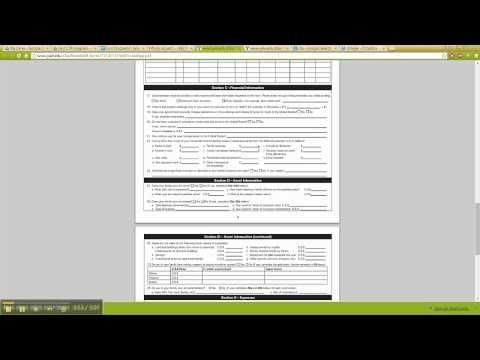 International Student Financial Aid Application Tutorial Video   CTP