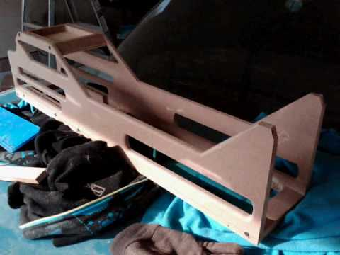 Custom Center Console Build on Crown Vic p2 | Project BLUE ...