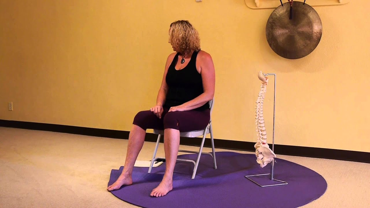 Youtube Chair Yoga Chicago Bears Folding Chairs Spinal And Cervical Stretches Some Jokes
