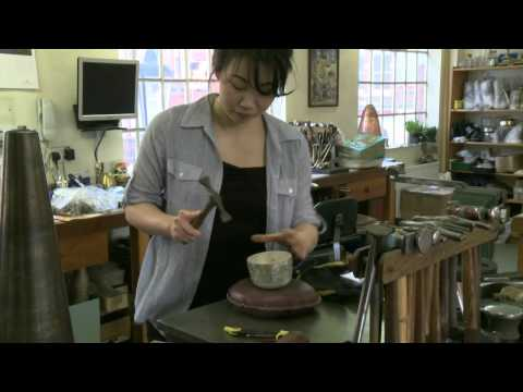 Theresa Nguyen - Artist Silversmith Workshop Studio