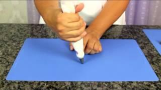 Maneira muito fácil de decorar bolos com bicos de confeitar - aula 1 thumbnail