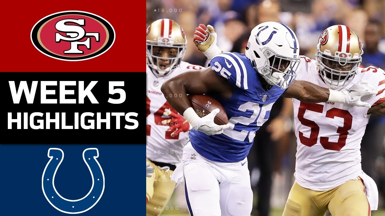 ce386a73764 49ers vs. Colts | NFL Week 5 Game Highlights - YouTube