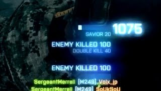 Ridiculous Killfeed - Help me count (BF3 PC Gameplay)