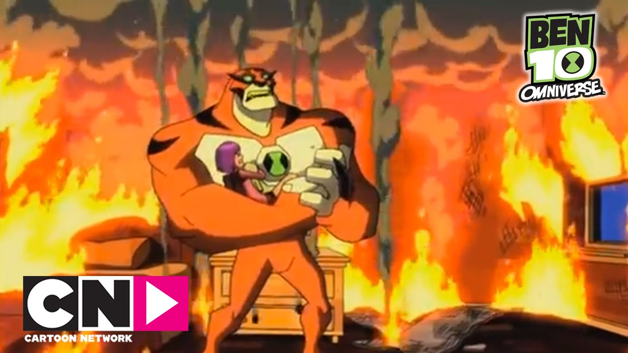 Het vuur   Ben 10 Omniverse   Cartoon Network - YouTube  Головастик Бен 10