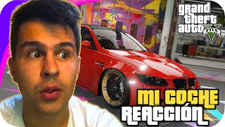 😱 REACCIONO A MI COCHE REAL EN GTA 5 🚗 BMW E92 🎏