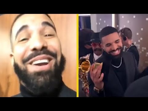 Drake Reacts To His GRAMMYs Acceptance Speech Being Cut Off! Mp3