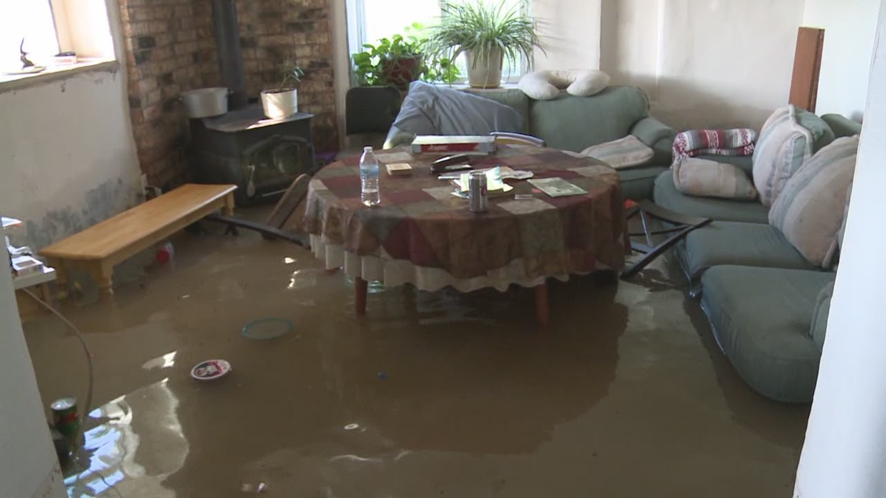 Inside a flooded home in southern NM - YouTube