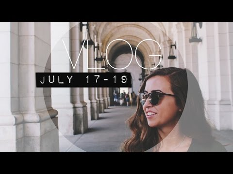 THE DC VLOGS Ep.2 | July 17-19 | Georgetown Exploring