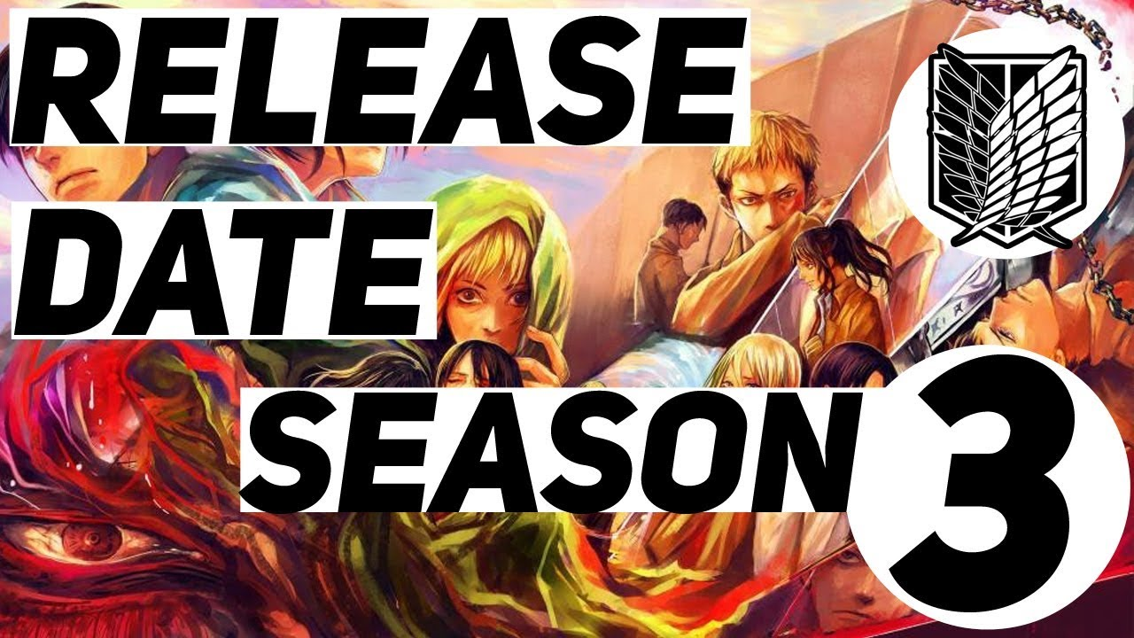 Attack on Titan Season 3 Official Release Date - YouTube