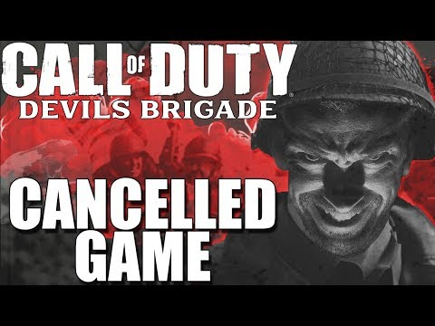 Call Of Duty DEVIL'S BRIGADE: CANCELLED WW2 Game (HISTORY OF COD)