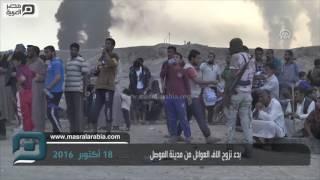 مصر العربية | بدء نزوح الاف العوائل من مدينة الموصل