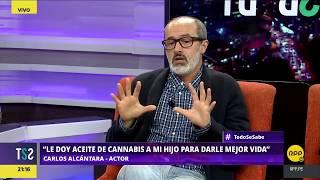 Todo Se Sabe │Carlos Alcántara contó cómo beneficia el aceite de marihuana a su hijo autista